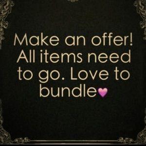 Make a bundle! All must go!